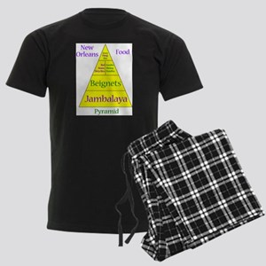New Orleans Food Pyramid Pajamas