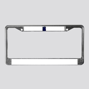 Blues Guitar And Amplifier License Plate Frame