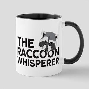 The Raccoon Whisperer Mugs