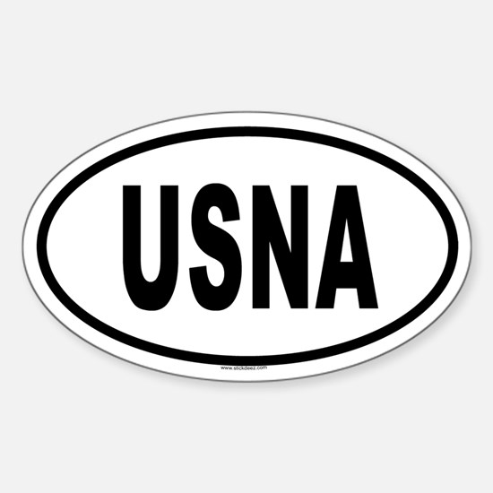USNA Oval Decal