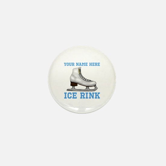 Family Ice Rink Mini Button