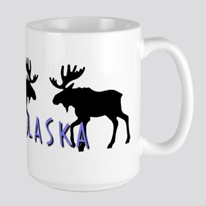 moose silhouette6 Mugs