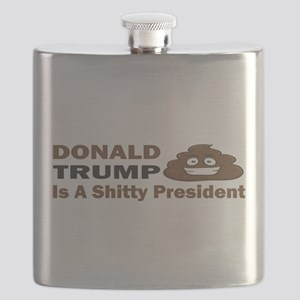 Donald Trump is a shitty president Flask