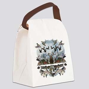 Life outside Canvas Lunch Bag