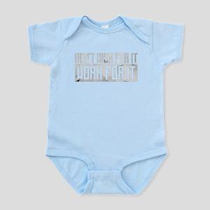Don't Wish For It Infant Bodysuit
