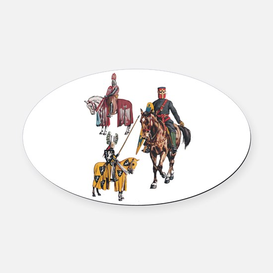 STRONG Oval Car Magnet