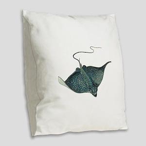 RAY Burlap Throw Pillow