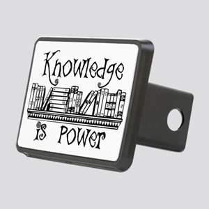 Knowledge is Power - Libra Rectangular Hitch Cover