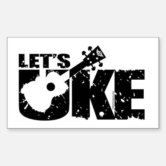 Let's Uke Decal