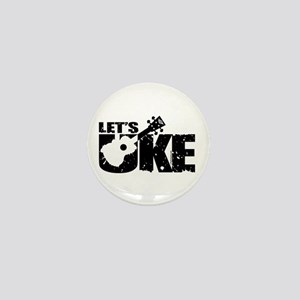Let's Uke Mini Button