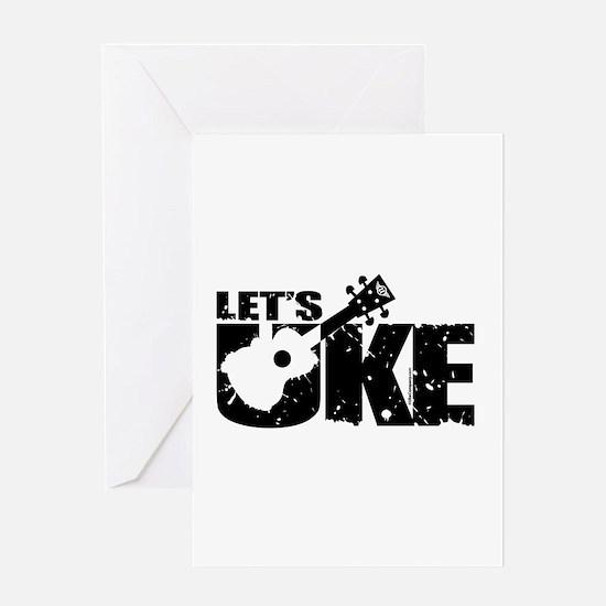 Let's Uke Greeting Cards