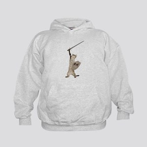 Heroic Warrior Knight Cat Sweatshirt