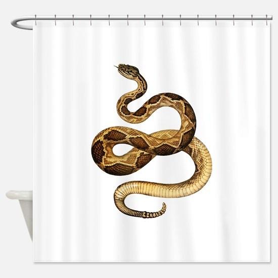 STRIKE Shower Curtain
