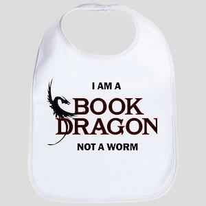 I am a Book Dragon Baby Bib