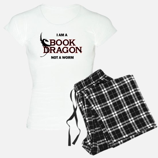 I am a Book Dragon Pajamas