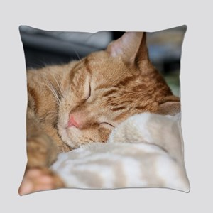 Purrfectly sleeping Everyday Pillow