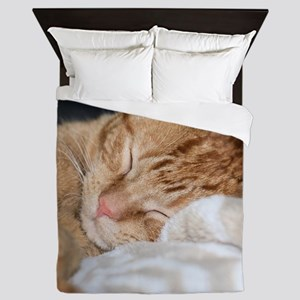 Purrfectly sleeping Queen Duvet