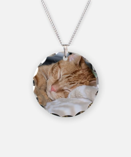 Purrfectly sleeping Necklace