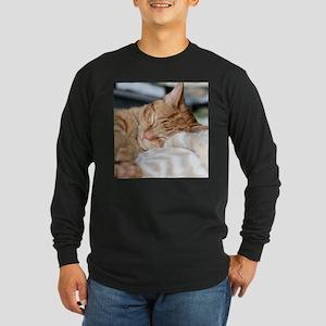 Purrfectly sleeping Long Sleeve T-Shirt