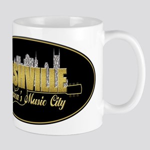 Nashville America's Music City-02 Mugs