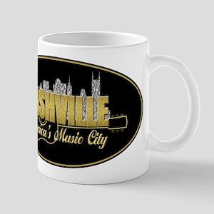 Nashville America's Music City-02 Mugs