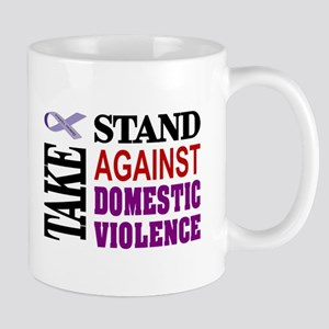 Take a Stand Against Domestic Violence-CM Mugs