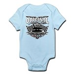 Classic Car Tribal Flags Body Suit