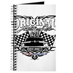Classic Car Tribal Flags Journal