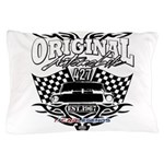 Classic Car Tribal Flags Pillow Case