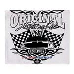 Classic Car Tribal Flags Throw Blanket