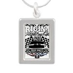 Classic Car Tribal Flags Necklaces