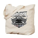 Classic Car Tribal Flags Tote Bag