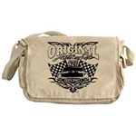 Classic Car Tribal Flags Messenger Bag
