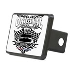 Classic Car Tribal Flags Rectangular Hitch Cover
