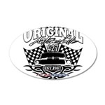 Classic Car Tribal Flags Decal Wall Sticker