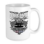 Classic Car Tribal Flags Mugs