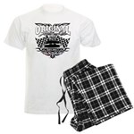 Classic Car Tribal Flags Pajamas