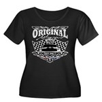 Classic Car Tribal Flags Plus Size T-Shirt