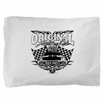 Classic Car Tribal Flags Pillow Sham