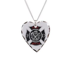 New! Necklace Heart Charm