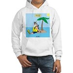 Santa SCUBA Hooded Sweatshirt