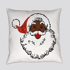 sequin African santa claus Everyday Pillow