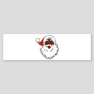 sequin African santa claus Bumper Sticker