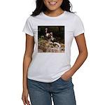 Two Turkeys on a Log Women's T-Shirt