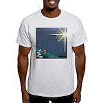 Christmas Star Mural Light T-Shirt