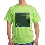Christmas Star Mural Green T-Shirt