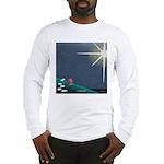 Christmas Star Mural Long Sleeve T-Shirt