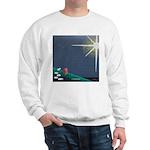 Christmas Star Mural Sweatshirt