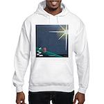 Christmas Star Mural Hooded Sweatshirt