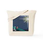Christmas Star Mural Tote Bag